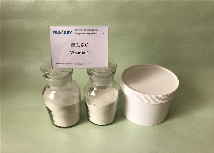 Excessive Intake Raw Vitamin C Powder , Natural Ascorbic Acid Powder For Curing Cataracts